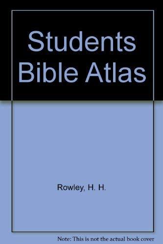 9780817010225: Students Bible Atlas