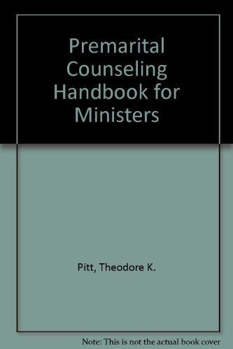9780817010713: Premarital Counseling Handbook for Ministers