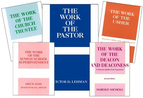 Work of the Church Mini-Set (0817014888) by Judson Press