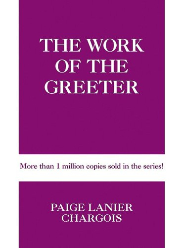 Work of the Greeter (Work of the Church) 9780817015404 The latest volume in Judson Press's classic  Work of the Church  series, this book offers practical information for development and impl