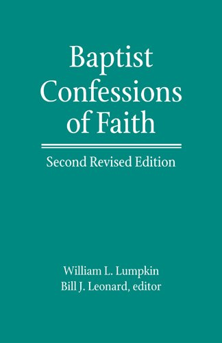 9780817016951: Baptist Confessions of Faith