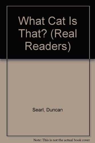 What Cat is That? - Real Readers Series