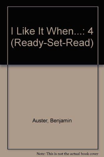 I Like It When - Ready Set Read Series