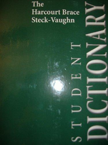 Harcourt Brace Sv Dictionary: Steck-Vaughn Company
