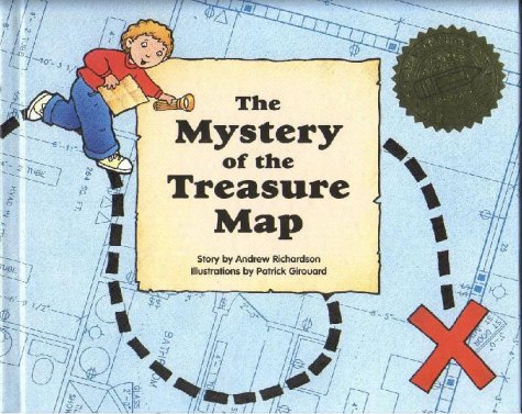 9780817244354: The Mystery of the Treasure Map (Publish-A-Book)