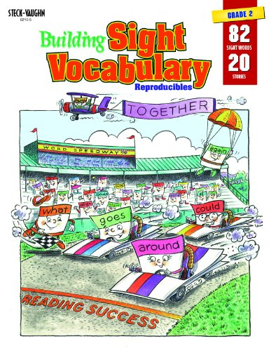 9780817262112: Building Sight Vocabulary Reproducibles Book 2- Grade1 (20 Stories, 88 Sight Words) (Postcards from)