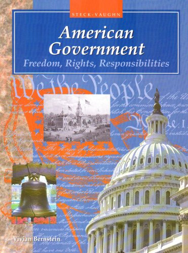 9780817263430: American Government: Freedom, Rights, Responsibilities (Steck-Vaughn American Government)