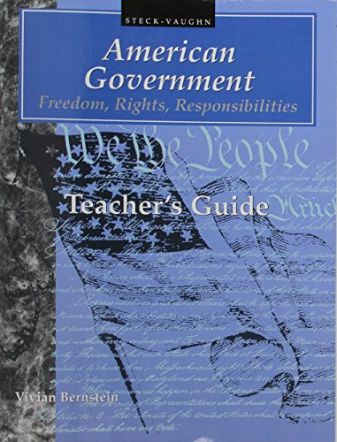 9780817263447: American Government: Freedom, Rights, Responsibilities (Teacher's Guide)