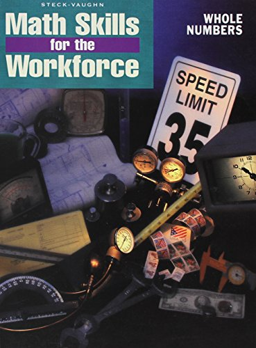 9780817263751: Whole Numbers (Math Skills for the Workforce series)