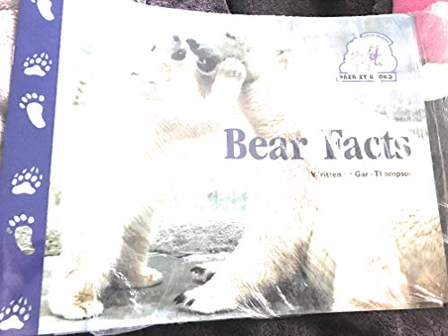 Steck-Vaughn Pair-It Books Emergent Stage 1: Student Reader Bear Facts , Story Book (0817264019) by Gare Thompson