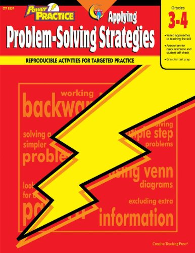 9780817267599: Strategies for Problem Solving: A Simple, Step-By-Step Approach (Grades 3-4) (Strat for Problem Solving)