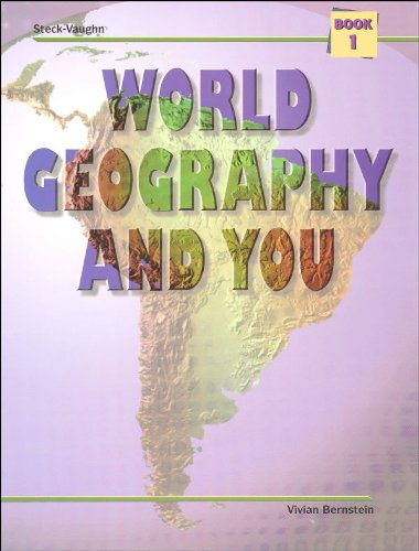 9780817268275: World Geography and You: Student Edition (Softcover) Book One