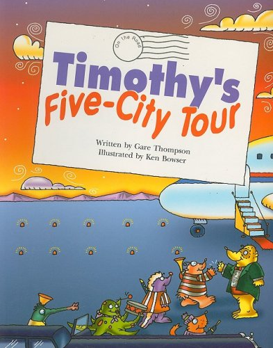 9780817272807: Steck-Vaughn Pair-It Books Fluency Stage 4: Student Reader Timothy's Five-City Tour , Story Book