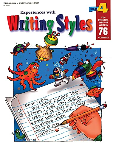 9780817280574: Steck-Vaughn Experiences with Writing Styles: Student Workbook Grade 4 (Exp with Writing Styles)