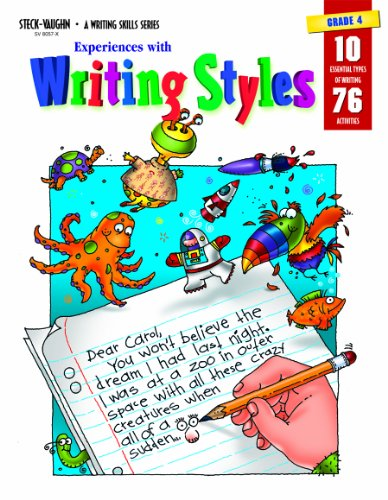 Experiences with Writing Styles: Reproducible Grade 4: STECK-VAUGHN