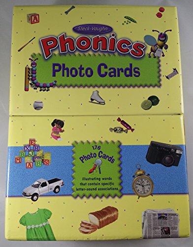 9780817292515: Steck-Vaughn Phonics Photo Cards