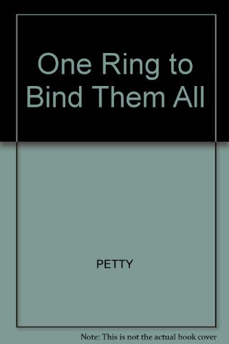 One Ring to Bind Them All: Tolkien's Mythology [inscribed]