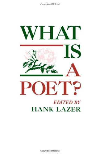 9780817303266: What Is a Poet?: Essays from the Eleventh Alabama Symposium on English and American Literature