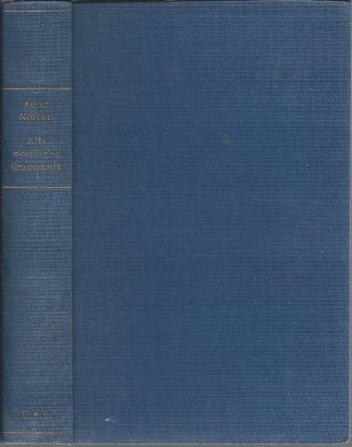 9780817303549: Altnordische Grammatik I: Altislandische und altnorwegische Grammatik (Laut- und Flexionslehre) unter Berucksichtigung des Urnordischen