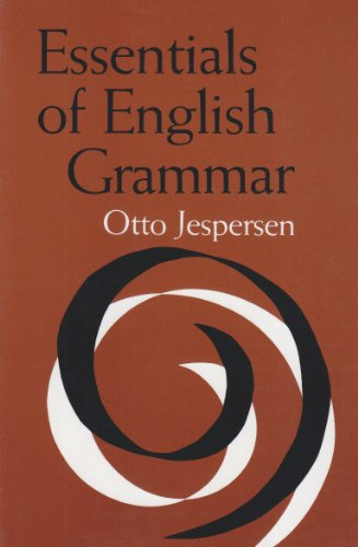 9780817304522: Essentials of English Grammar (Alabama Linguistic & Philological Ser: V)