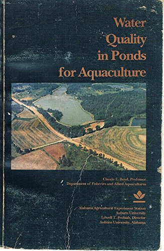9780817305321: Water Quality in Ponds for Aquaculture