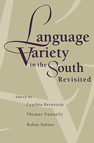9780817308827: Language Variety in the South Revisited