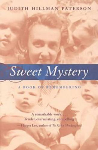 9780817310905: Sweet Mystery: A Book of Remembering (Deep South Books)