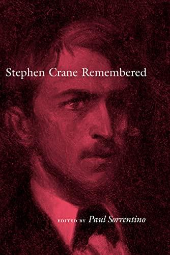 9780817315030: Stephen Crane Remembered (Amer Lit Realism & Naturalism)