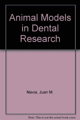 9780817323028: Animal Models in Dental Research