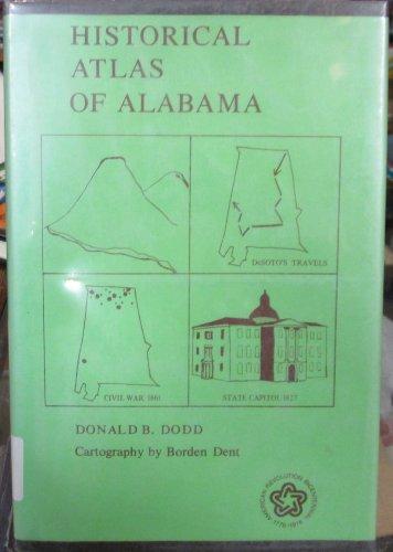 9780817352264: Historical Atlas of Alabama