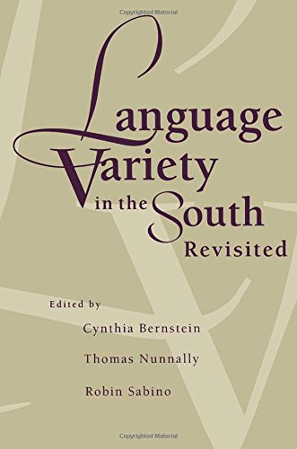 9780817357443: Language Variety in the South Revisited