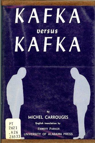 Kafka Versus Kafka (9780817366049) by Michel Carrouges