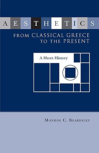 9780817366230: Aesthetics from Classical Greece to the Present: A Short History (Studies in the Humanities: No. 13)