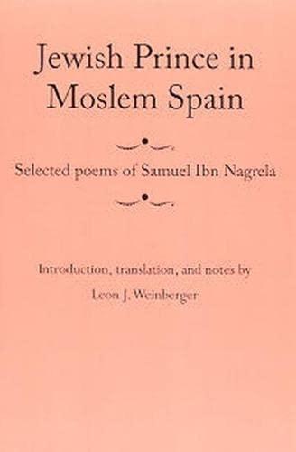 9780817369002: Jewish Prince in Moslem Spain: Selected Poems (Judaic Studies)