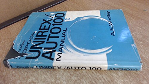 9780817405229: Beseler Topcon Unirex/Auto 100 manual