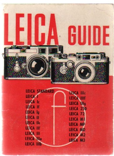 Leica Guide: How to work with any: Emanuel, W.D.