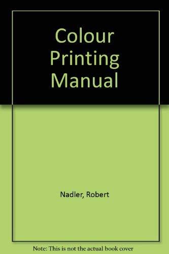 9780817421861: Colour Printing Manual