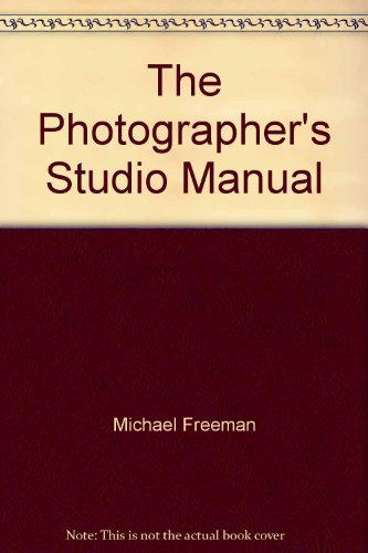 9780817454623: The Photographer's Studio Manual