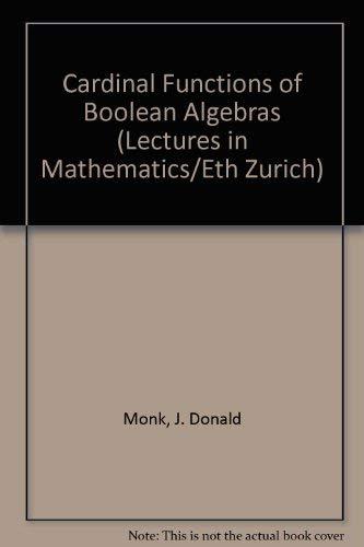 Cardinal Functions on Boolean Algebras