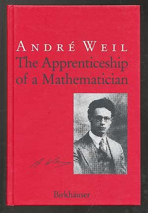 9780817626501: The Apprenticeship of a Mathematician
