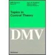 Topics in Control Theory (Oberwolf Seminars): H. W. Knobloch,