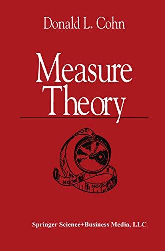 9780817630034: Measure Theory