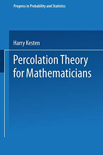 9780817631079: Percolation Theory for Mathematicians
