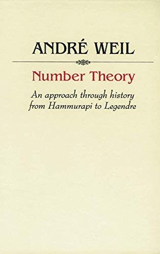 9780817631413: Number Theory: An approach through history From Hammurapi to Legendre