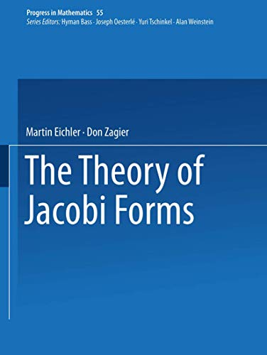 9780817631802: The Theory of Jacobi Forms (Progress in Mathematics)