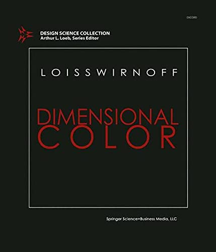9780817632533: Dimensional Color (Design Science Collection)