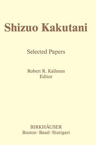 Selected Papers. 2 Volumes: S. KAKUTANI
