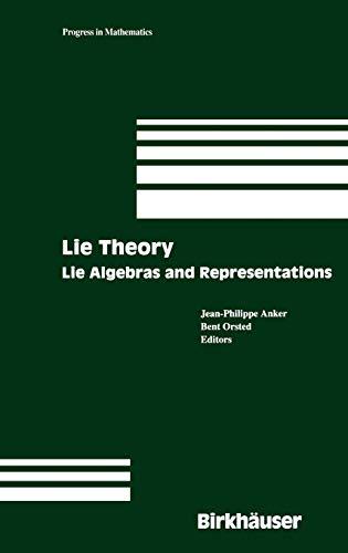 9780817633738: Lie Theory: Lie Algebras and Representations (Progress in Mathematics)