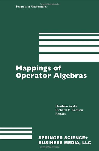 9780817634766: Mappings of Operator Algebras (Progress in Mathematics)