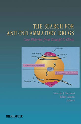9780817636852: The Search for Anti-Inflammatory Drugs: Case Histories from Concept to Clinic
